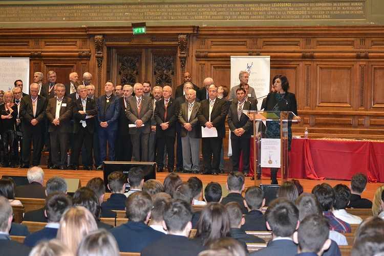 Meilleur Apprenti de France: Guillaume Courcoux reçu à la Sorbonne pour la remise des médailles! dsc01191