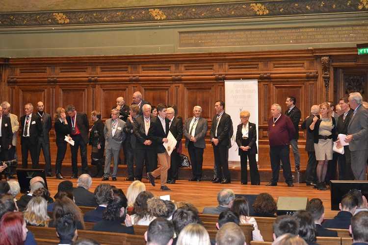 Meilleur Apprenti de France: Guillaume Courcoux reçu à la Sorbonne pour la remise des médailles! dsc0126