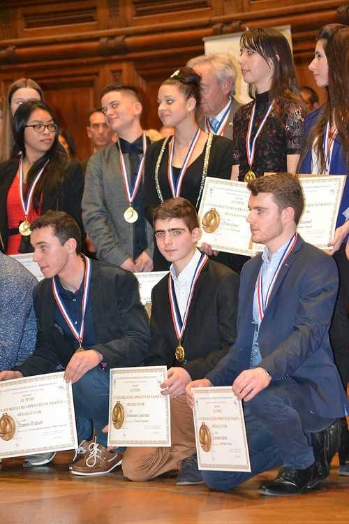 Meilleur Apprenti de France: Guillaume Courcoux reçu à la Sorbonne pour la remise des médailles! dsc0158