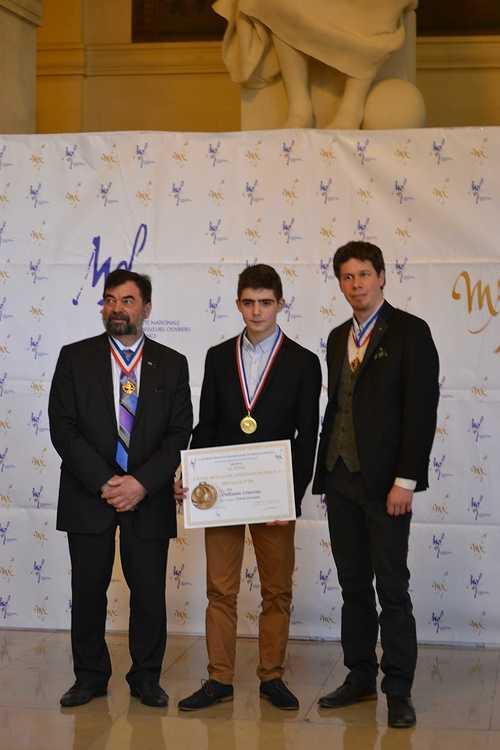 Meilleur Apprenti de France: Guillaume Courcoux reçu à la Sorbonne pour la remise des médailles! dsc0173