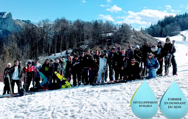 BTS Technico-Commercial et BTS PRoduction Horticole: une semaine de pur bonheur au ski pour les deuxième année ! 0