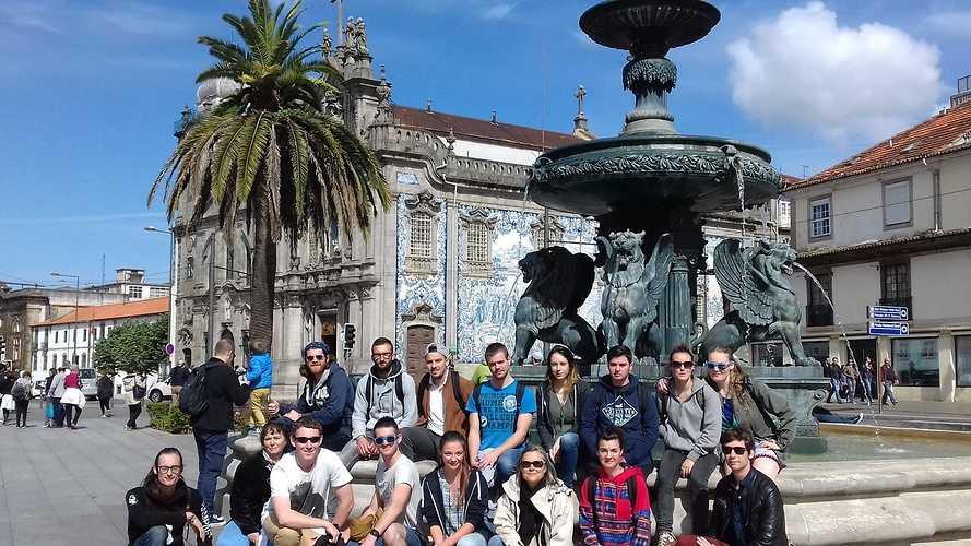 Voyage au Portugal des BTS 2 Production Horticole 0