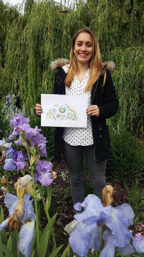 Marie-Amélie JANIN créé un jardin pour les autistes ! 0