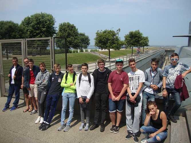 Voyage pédagogique de la classe de 3ème dsc03037