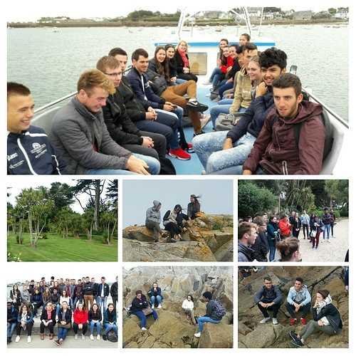 Visite de rentrée des BTS TC 1 et 2 sur l''île de Batz 0
