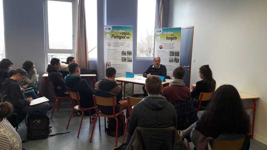 Forum des métiers 2018 à l''école Saint-Ilan LANGUEUX 20180130135437