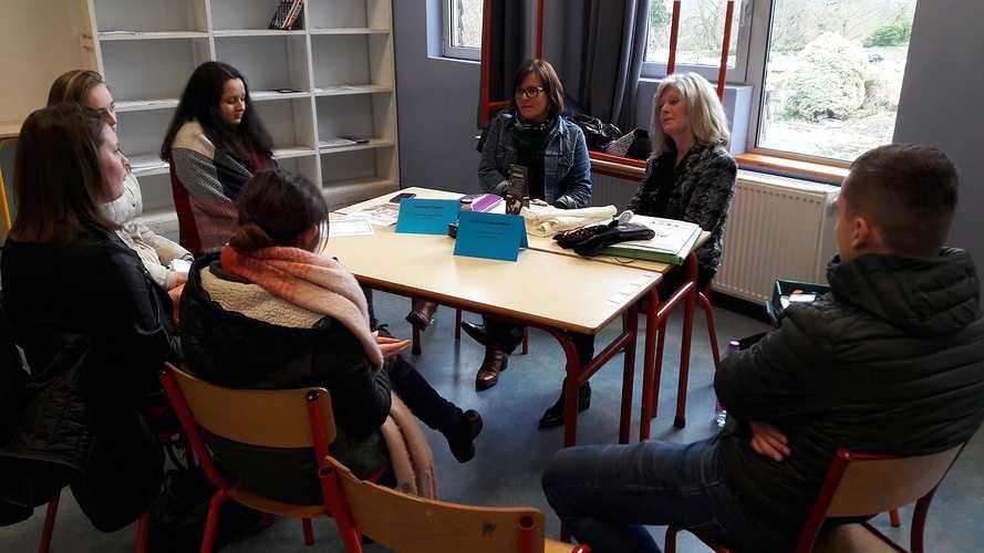 Forum des métiers 2018 à l''école Saint-Ilan LANGUEUX 20180130143537