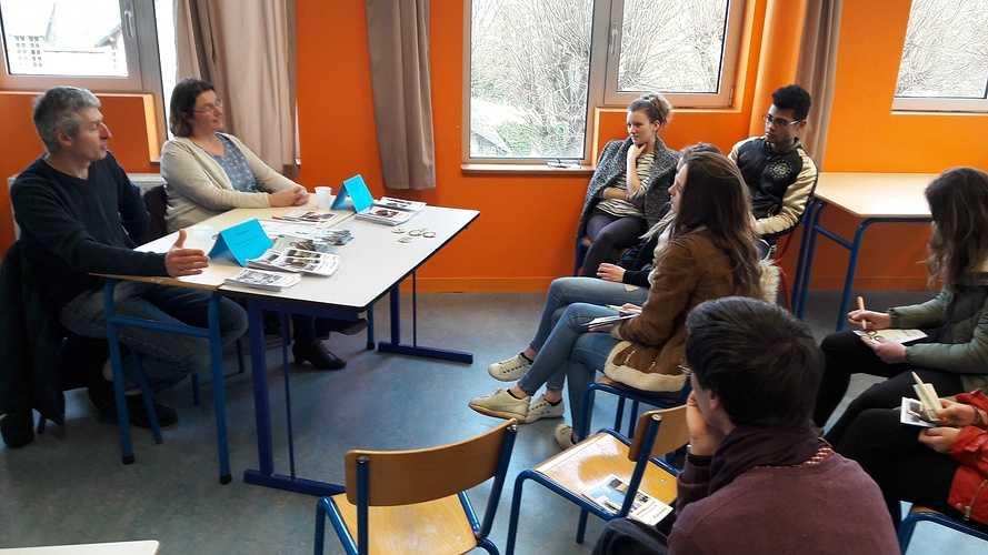 Forum des métiers 2018 à l''école Saint-Ilan LANGUEUX 20180130144122