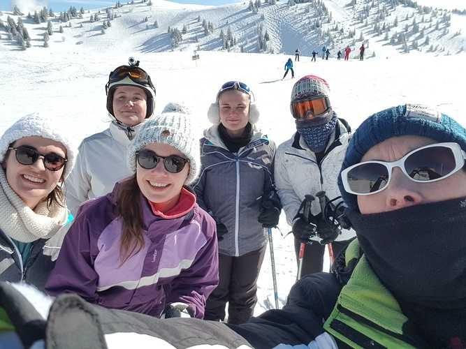 Les BTS PH et TC au ski ! 0