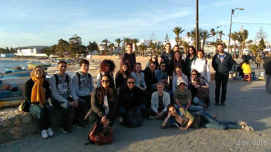 Retour sur le voyage en Tunisie des élèves de Saint Ilan p20180402175701p