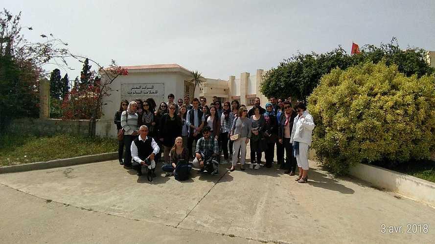Retour sur le voyage en Tunisie des élèves de Saint Ilan p20180403120424p