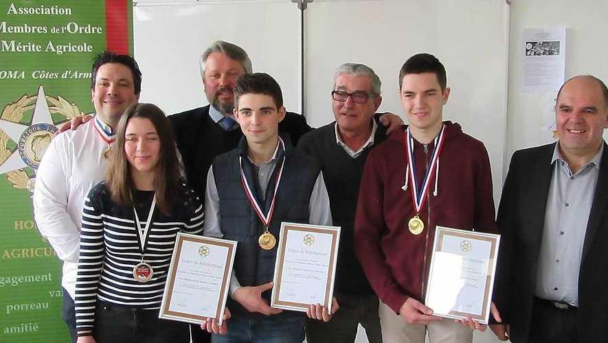 Le mérite agricole honore des élèves de Saint-Ilan 0