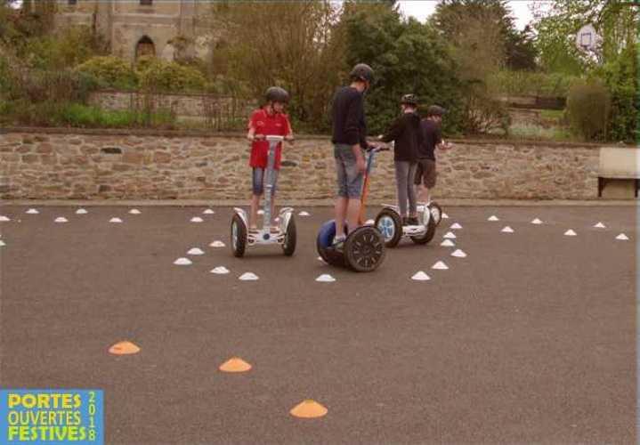 Retour sur les Portes Ouvertes Festives de l'école Saint-Ilan sur le thème de l'innovation gyropodes