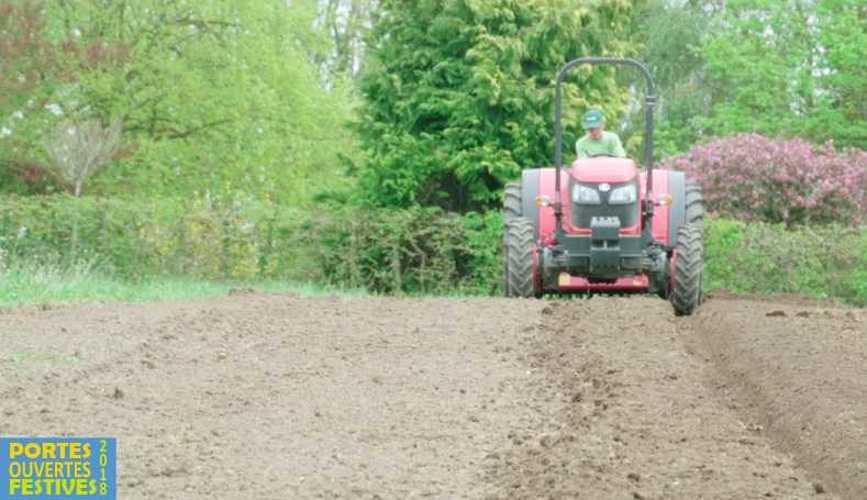 Retour sur les Portes Ouvertes Festives de l'école Saint-Ilan sur le thème de l'innovation tracteur