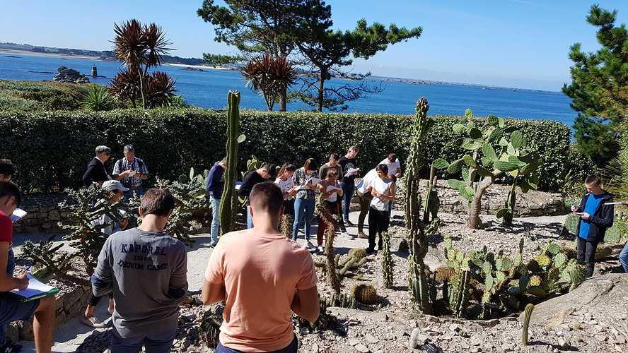 Les BTS Aménagement Paysager sur L''île de Batz 0