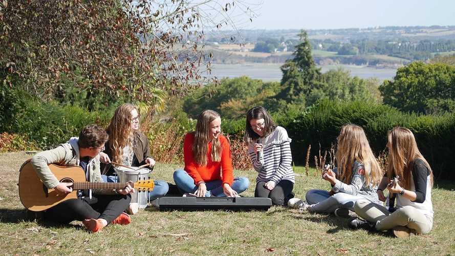 Des musiciens en herbe à Saint-Ilan p1210142
