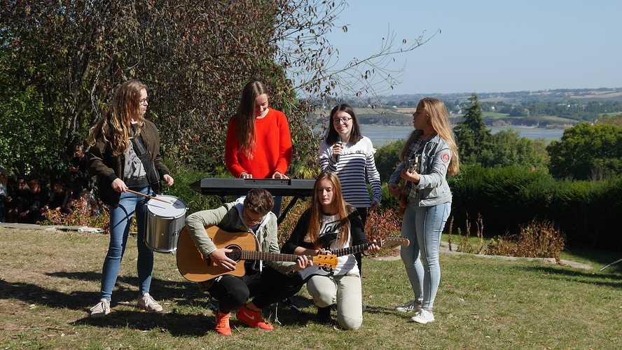 Des musiciens en herbe à Saint-Ilan 0