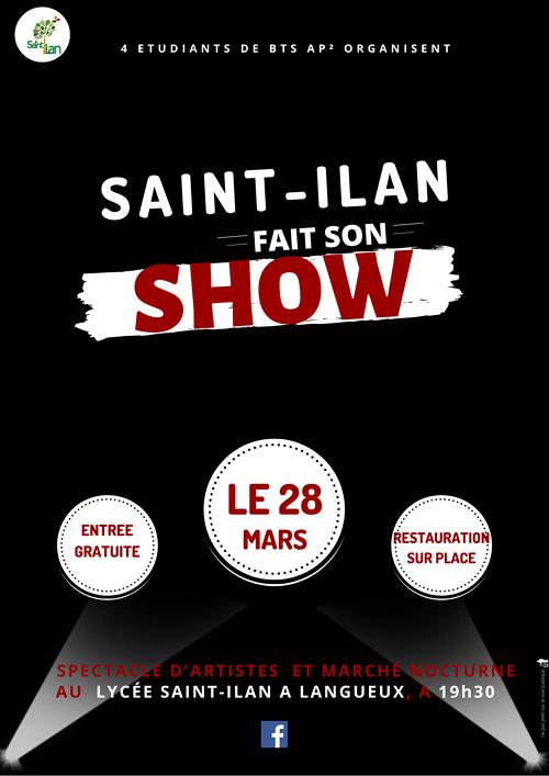 Saint Ilan fait son show 0