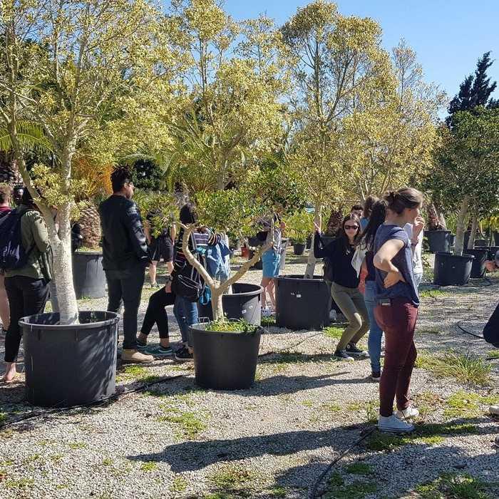 Les élèves de BTS Production Horticole en Tunisie