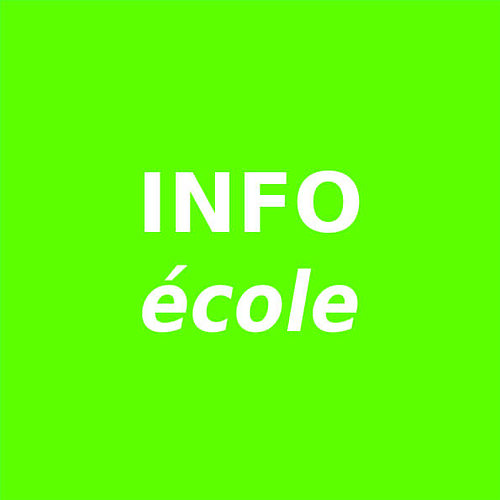 Info école 0
