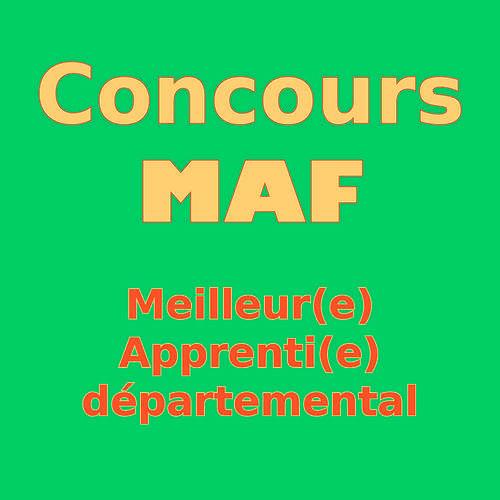 Concours MAF - Meilleur(e) Apprenti(e) de France – à l'école Saint Ilan 0