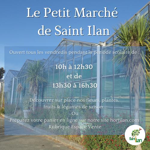 Le Petit Marché de Saint Ilan 0